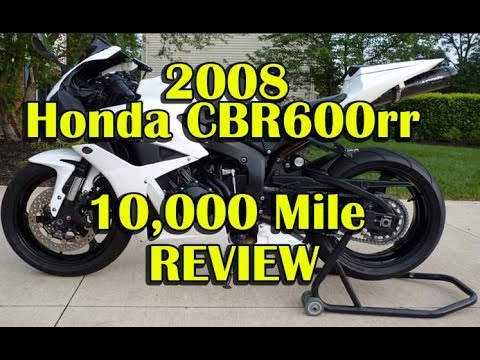 Video 2008 Honda CBR600rr 10K Mile Review - Best Supersport For The Street download in MP3, 3GP, MP4, WEBM, AVI, FLV January 2017