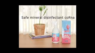 video thumbnail Mineral disinfectant coRna youtube