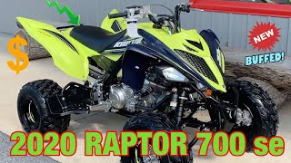 3. THE NEW 2020 YAMAHA RAPTOR 700 !