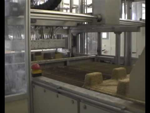 Inmaco Pulp Moulding Machine MT250 producing pallets