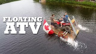 All-terrain vehicles should be able to go on water. Now they can.What projects should we make next? Let us know in the comments!All Brojects, all the time: http://www.cottagelife.com/brojectsSubscribe to Cottage Life on YouTube: http://bit.ly/19UCmwFDIY projects, design tips, recipes and more: http://www.cottagelife.comTwitter: http://www.twitter.com/cottagelifeFacebook: http://www.facebook.com/cottagelifePinterest: http://pinterest.com/cottagelife/Subscribe to Cottage Life Food: https://www.youtube.com/cottagelifefoodSubscribe to Cottage Life Style: https://www.youtube.com/cottagelifestyle