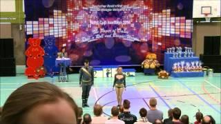Christina Bischoff-Moos & Lukas Moos - Teddybears-Cup 2014