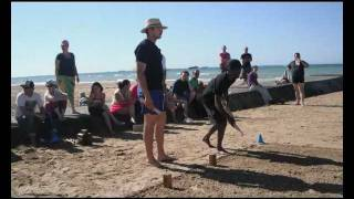 Asnelles France  city pictures gallery : Championnat de France Kubb 2011