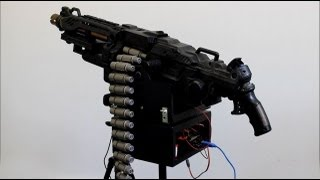 Woman Builds Awesome Automated NERF Sentry Gun
