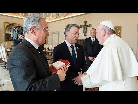 Στο Βατικανό ο πρόεδρος της Κολομβίας