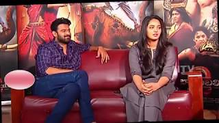 Video Now see the off screen chemistry of PRABHAS and Anushka  // MP3, 3GP, MP4, WEBM, AVI, FLV April 2019