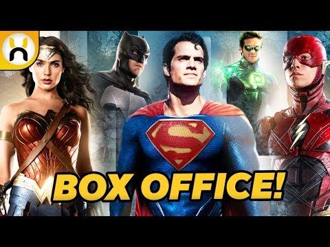Justice League Box Office Opening Numbers Are Incredibly Low (видео)