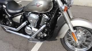 8. SOLD! 2007 Kawasaki Vulcan 900 VN900 Classic Engine Start and Overview