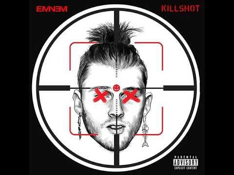 Eminem   KILLSHOT Official Audio MGK Response w/Lyrics