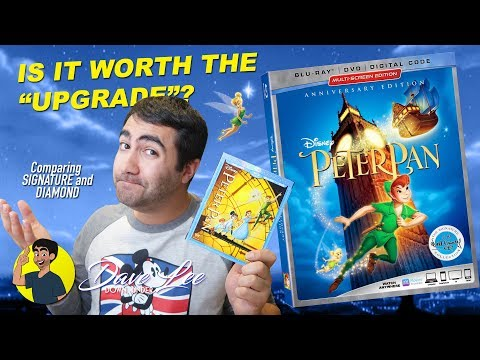 PETER PAN - DISNEY SIGNATURE COLLECTION Blu-ray - Is It Worth The Upgrade?
