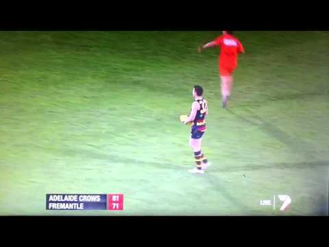 Last 41 seconds Adelaide Crows vs Fremantle Second Semi Final 2012