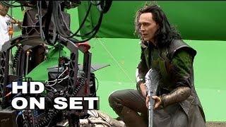 Thor 2: The Dark World: Behind the Scenes with Tom Hiddleston
