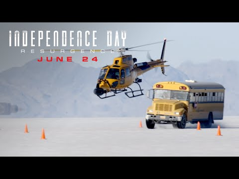Independence Day: Resurgence (Featurette 'Utah Salt Flats')