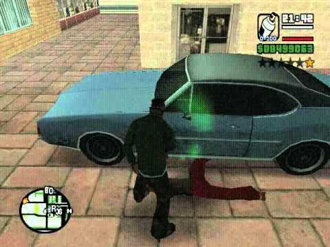 Como pintar un carro en GTA SAN ANDREAScon un bote de spray ( no es un