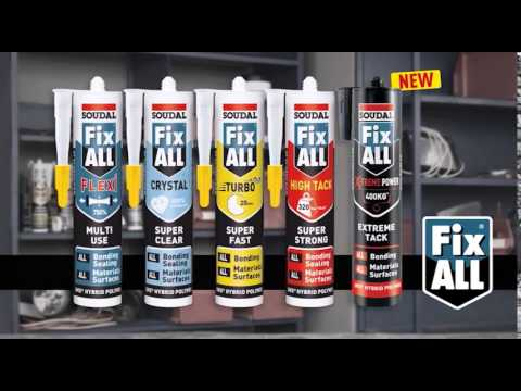 Fix All -  Perfect Sealing & Bonding Solution for all Interior & Exterior Applications -2014