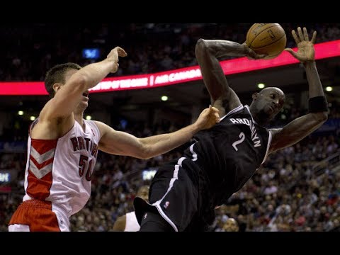 Video: Toronto Raptors Tyler Hansbrough loves intensity & playing Brooklyn Nets Kevin Garnett