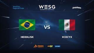 xcecyx vs Heidilisk, game 1