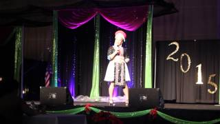 Hmong Milwaukee New Year 2014-2015 Pageant Contestant #4 Yeng Vang Talent Round