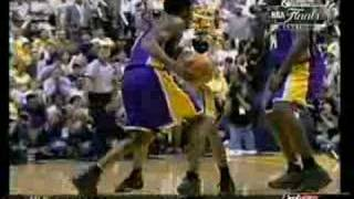 Kobe Bryant 28 points vs Pacers, Game 4 takeover 1999-00