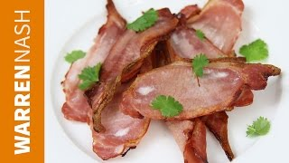 Lets be honest - you can't beat perfectly cooked, crispy bacon. Here I show you how to bake bacon in the oven with hardly any...