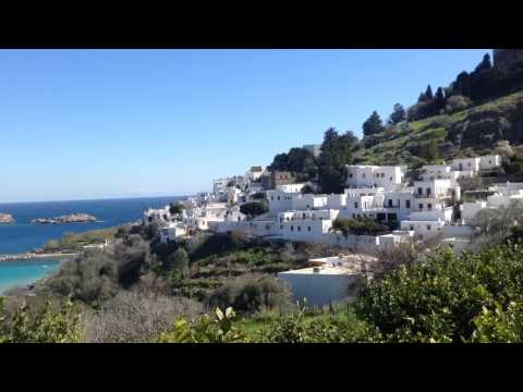 Lindos - Sun Heaven on Earth. Greece Is Paradise