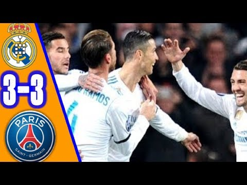 Real Madrid vs PSG 3- 3   All Goals & Extended Highlights HD