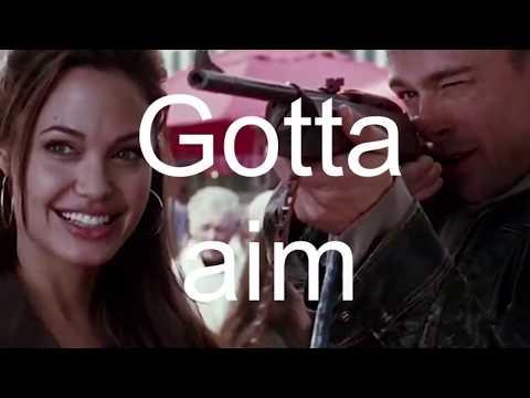 Filmglish: Mr. and Mrs. Smith (2005) - Fair scene