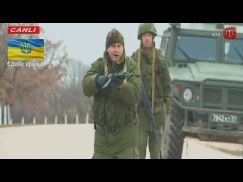 Pro-Russian Troops Fire Warning Shots in Crimea