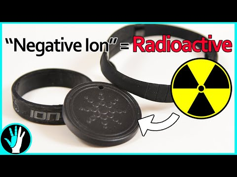 Negative Ion Products Are Dangerously RADIOACTIVE