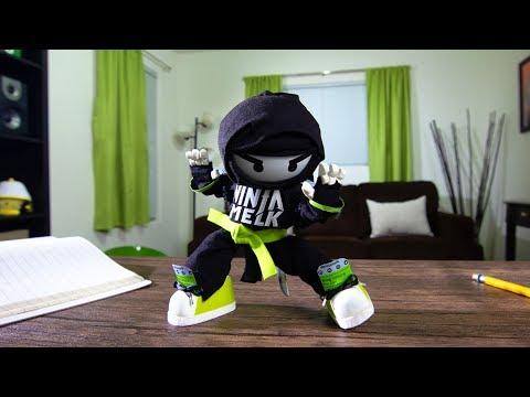 Stop-Motion Ninja Melk Commercial!