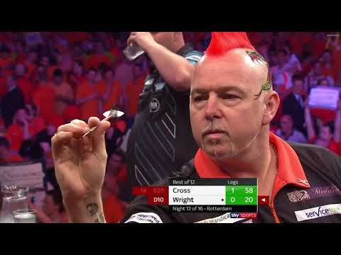 PDC Premier League Darts 2018 | Week 12 | Rob Cross - Peter Wright