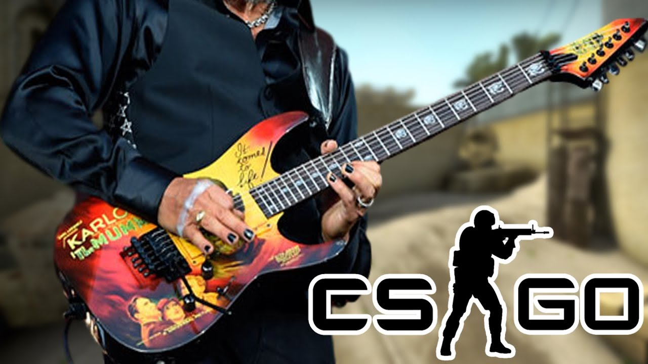 Playing Guitar on CS:GO – YouTuber Gameshow!