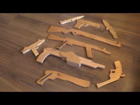 Оружие из дерева сделанное своими руками - DomaVideo.Ru