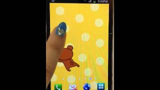 Rilakkuma Live wallpaper1 YouTube video