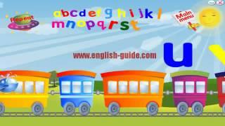 تعليم الاطفال الانجليزية - قطار الحروف - ABC