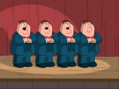 Four Peters' Eine Kleine Nachtmusik   Family Guy S4E10