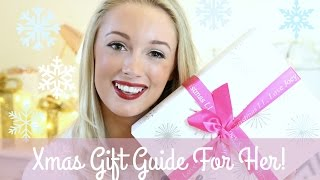 Christmas Gift Guide - For The Ladies! | Fashion Mumblr