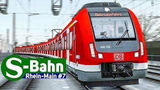 4. TS 2018: S-BAHN Rhein-Main #7 - Die moderne BR 430 auf der S6!   Train Simulator 2018