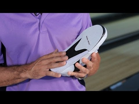 multiple heels and shoes - Watch more How to Bowl videos: http://www.howcast.com/videos/514211-How-to-Pick-a-Bowling-Glove-Bowling Learn how to pick bowling shoes from former PBA touri...