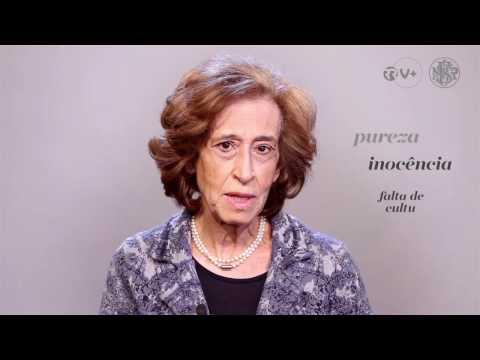Vozes do Centenário. Manuela Ferreira Leite