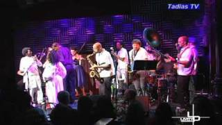 Tadias TV: Backstage With Danny Mekonnen And Melaku Belay At Joe's Pub In New York