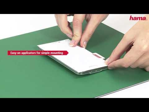 Hama Easy-On Screen Protectors (видео)