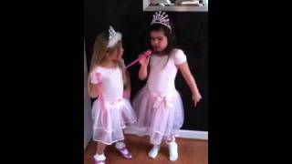 "Two Little Girls Cover ""Nicki Minaj - Super Bass"""