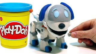 Video Paw Patrol Robo Dog - Superhero Play Doh Cartoons & Stop Motion Movies for kids MP3, 3GP, MP4, WEBM, AVI, FLV Februari 2018