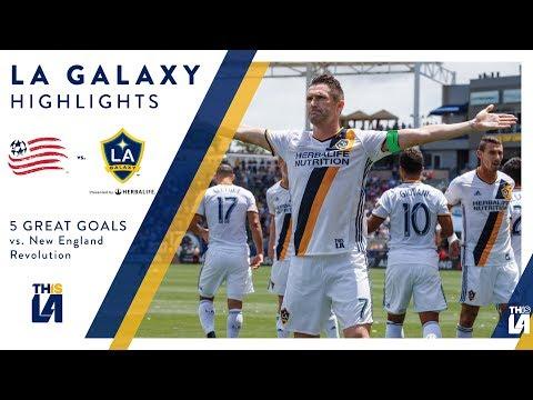 Video: Five Great Goals: LA Galaxy vs. New England Revolution
