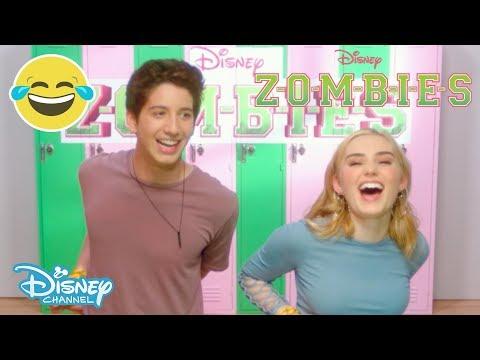 Z-O-M-B-I-E-S  Brain Food Challenge 1 рр Official Disney Channel UK