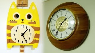 "A quick look at this swinging tail pendulum & glancing eyes cat clock plus a brief spiel about wall clocks in my home.Like on Facebook: https://www.facebook.com/PerthWAtchYouTube/#catclock #wallclocks===========Perth WAtch - Sharing my passion for horology and watches. Enjoy the videos on watch reviews, general thoughts & discussions, side-by-side comparisons, horology topics, and more!Watch Reviews Playlist: https://www.youtube.com/watch?v=h8DySE9bYGU&list=PL1qbhxREC4LQGhBi-ErvsxVz3Kc5P4FOxWatch Topics & Discussions: https://www.youtube.com/watch?v=u3IWov7lrrk&list=PL1qbhxREC4LT9JMopfMG2-wu6rFhsJCIuSubscribe: https://www.youtube.com/channel/UCjBOEG8LoZOV0qOO7TdlHlA?sub_confirmation=1===========Music:""ZigZag"" Kevin MacLeod (incompetech.com)Licensed under Creative Commons: By Attribution 3.0 Licensehttp://creativecommons.org/licenses/by/3.0/"