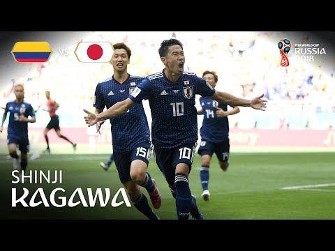 Shinji KAGAWA Goal  - Colombia …