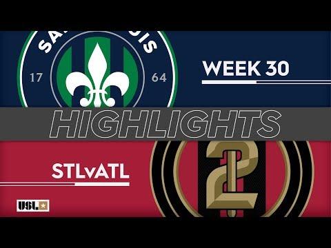 Saint Louis FC - Atlanta United 2 1:1. Видеообзор матча 29.09.2019. Видео голов и опасных моментов игры