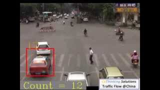 Maoming China  city photo : CoThinking Traffic Flow Video @Maoming China Day